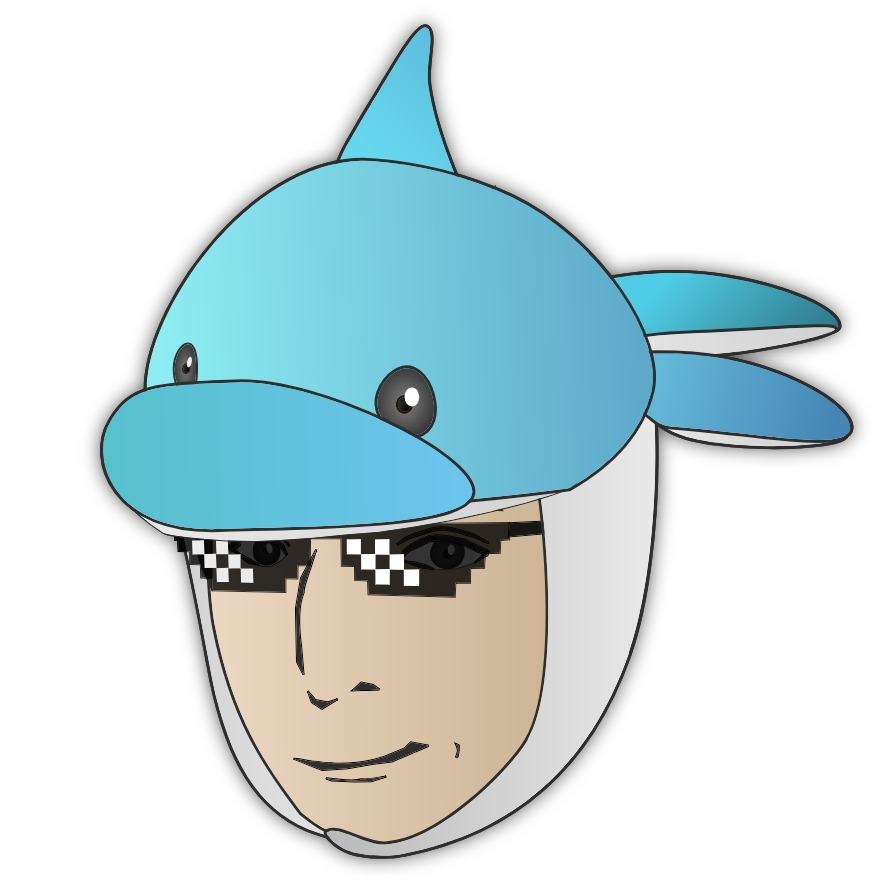 イルカが乗った中年 Joe満(ミツル)